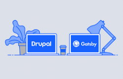 Drupal as a headless CMS with Gatsby